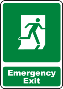 emergency construction signs