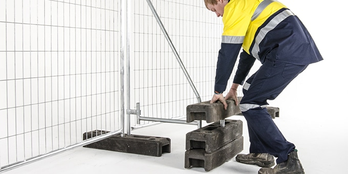 How to Correctly and Safely Install Temporary Fencing   TTFS
