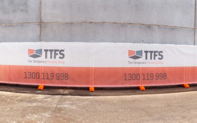 5 Tips for the Perfect Banner Installation on your Temporary Fencing