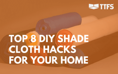 Top 8 DIY Shade Cloth Hacks For Your Home