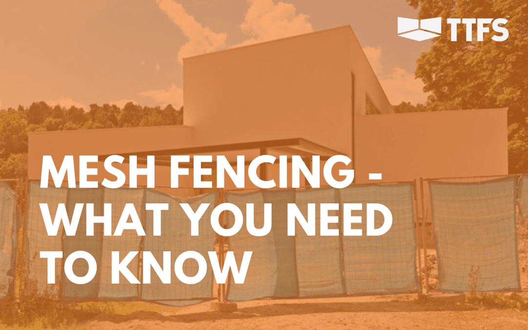 Temporary Mesh Fence Panels – What You Need to Know