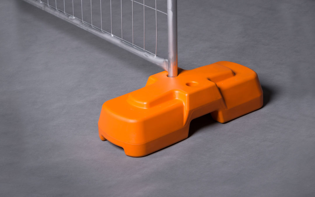 Premium Blowmoulded Fence Feet VS the Eco-Block – which is the best option for your site?