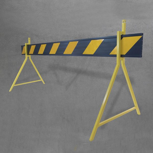Barrier board - black with stand