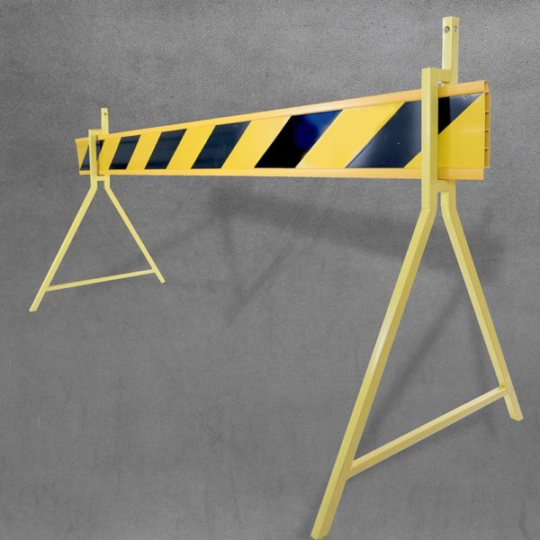 Barrier board - yellow with stand