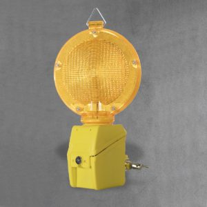 Flashing Hazard Light for Barriers
