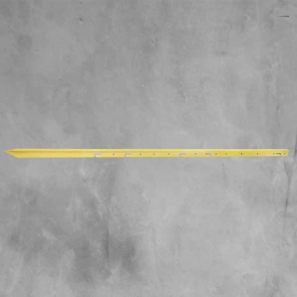 Steel-Star-Post-1.5m-Yellow