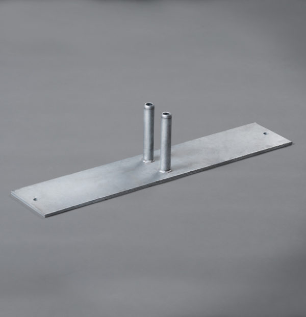 Temporary Fencing Steel Plate Foot Banner