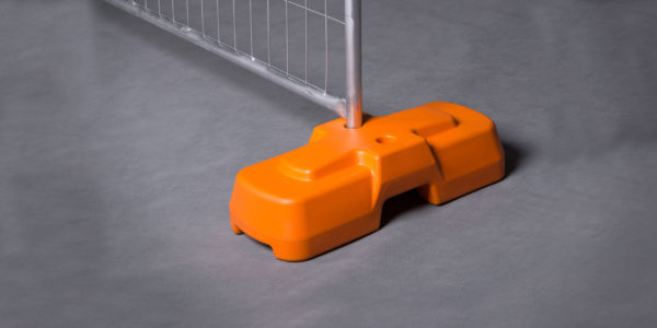 Temporary fencing Feet