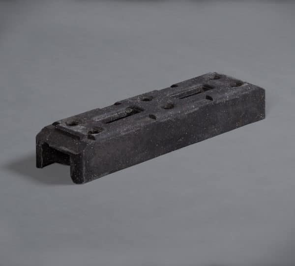 Temporary Fence Rubber Block Feet