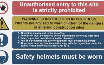 The Importance of Site Safety Signage on Construction Sites