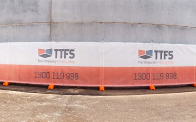How to Advertise on Your Temporary Fencing