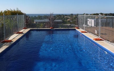 Why You Need Temporary Fencing During the Construction & Installation of Your Swimming Pool