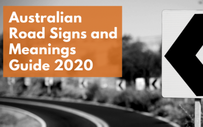 Australian Road Signs and Meanings Guide 2020