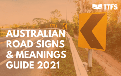 Australian Road Signs and Meanings Guide 2021