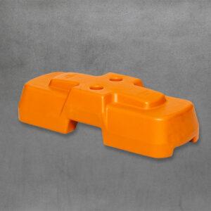 Standard Orange Blowmoulded Temporary Fence Feet
